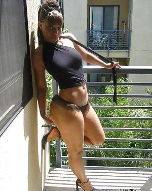 Ebony Lingerie Pics